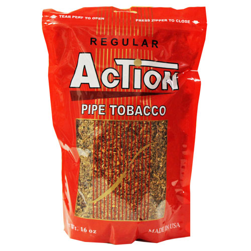 Action Regular Pipe Tobacco 16oz