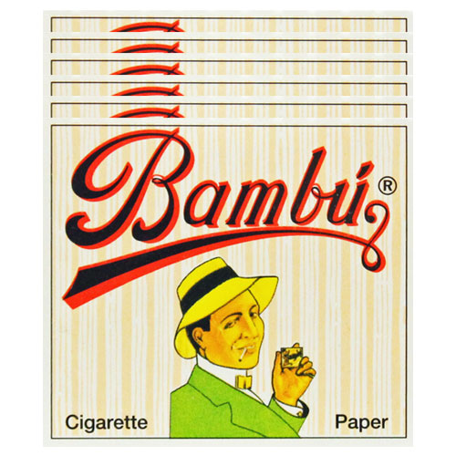 Bambu Classic Rolling Papers Original 6 Pack