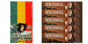 Bob Marley Hemp Rolling Papers