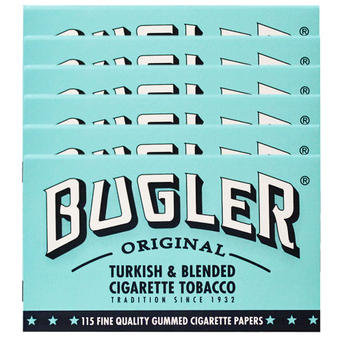 Bugler Original Rolling Papers 6 Pack