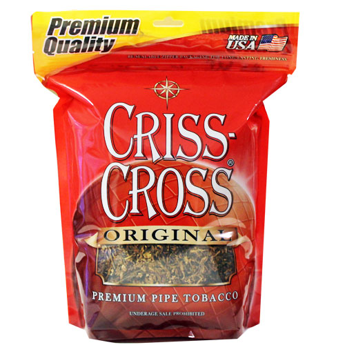 Criss Cross Original Blend Pipe Tobacco 16oz Red Bag