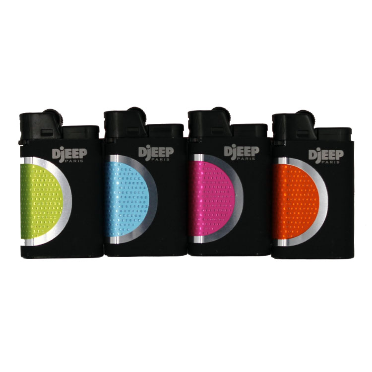 Djeep Lighter Hot Touch Modern 4 Pack