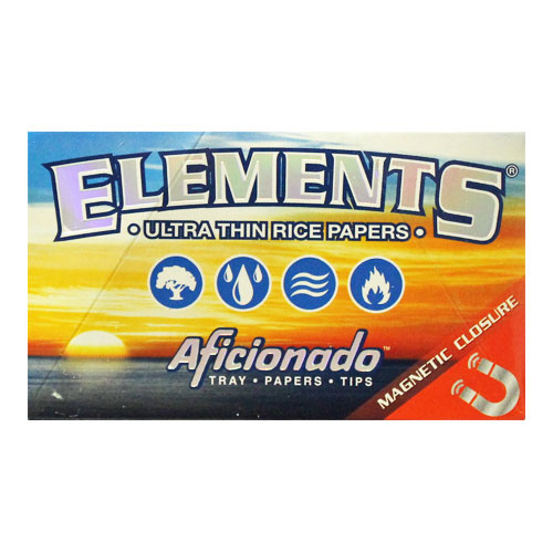 Elements 1 1/4 Aficionado Ultra Thin Rolling Papers Single Pack
