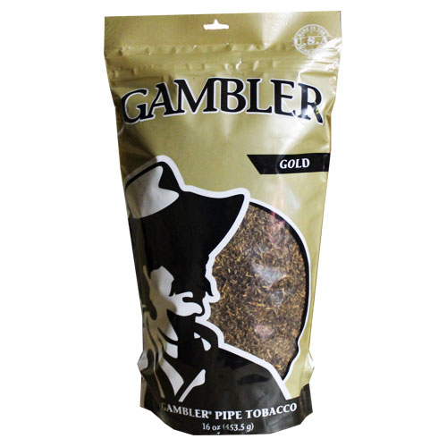 Gambler Gold Pipe Tobacco 16oz