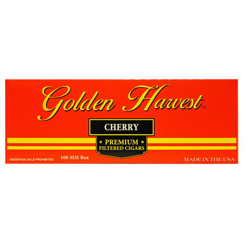 Golden Harvest Cherry Premium Filtered Cigars 10ct