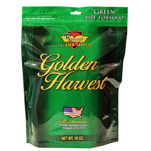 Golden Harvest Green Pipe Tobacco 16oz