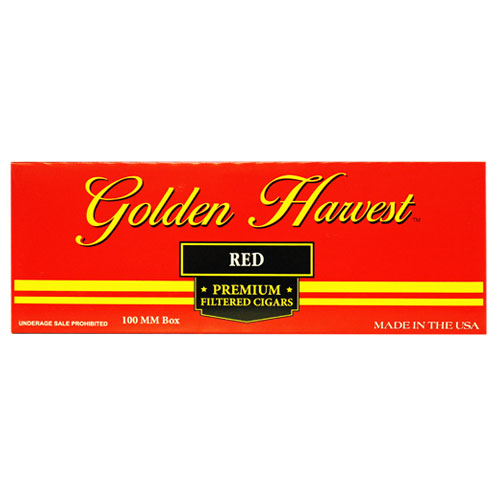 Golden Harvest Red Premium Filtered Cigars 10ct