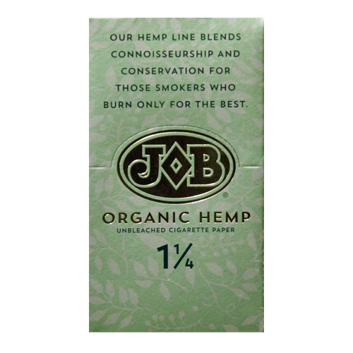 JOB Organic Hemp 1 1/4 Size Rolling Papers 24ct Box