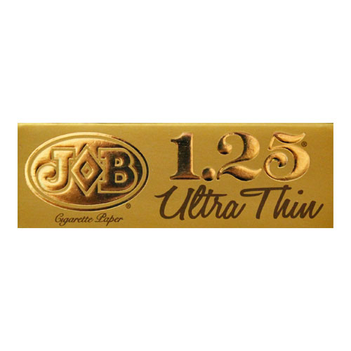 JOB Ultra Thin Gold 1 1/4 Size Rolling Papers Single Pack