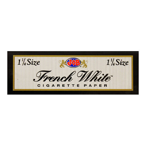 JOB French White 1 1/4 Size Rolling Papers Single Pack