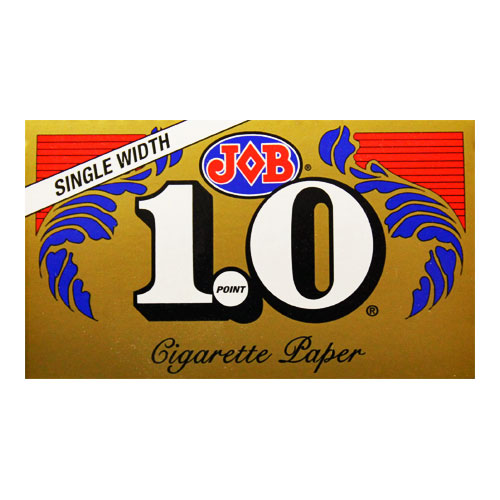 JOB Gold 1.0 Single Wide Size Rolling Papers Single Pack