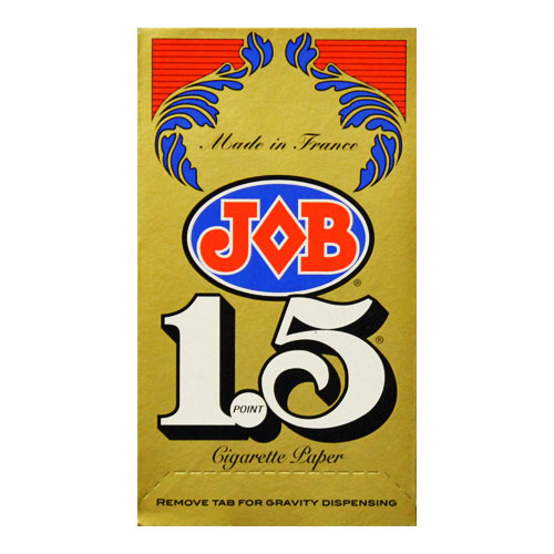JOB Gold 1 1/2 Size Rolling Papers 24ct Box