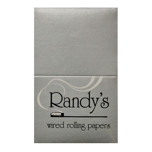Randy's Wired Classic Silver 77mm Rolling Papers 25ct Box