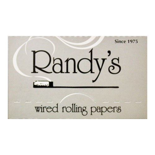 Randy's Wired Classic Silver 77mm Rolling Papers Single Pack