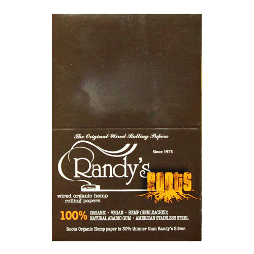 Randy's Wired Roots 77mm Rolling Papers 25ct Box