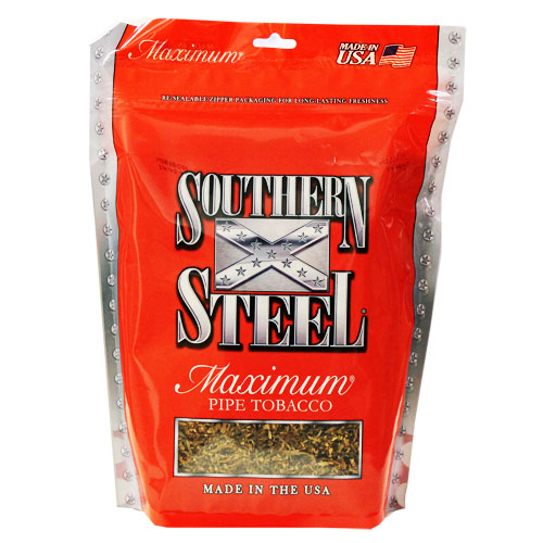 Southern Steel Maximum Pipe Tobacco 16oz Red Bag