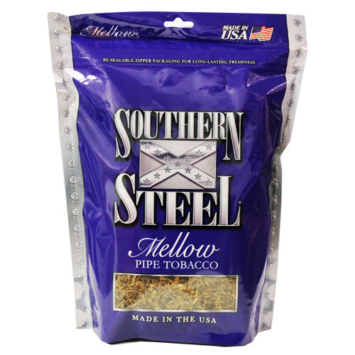 Southern Steel Mellow Pipe Tobacco 16oz Blue Bag
