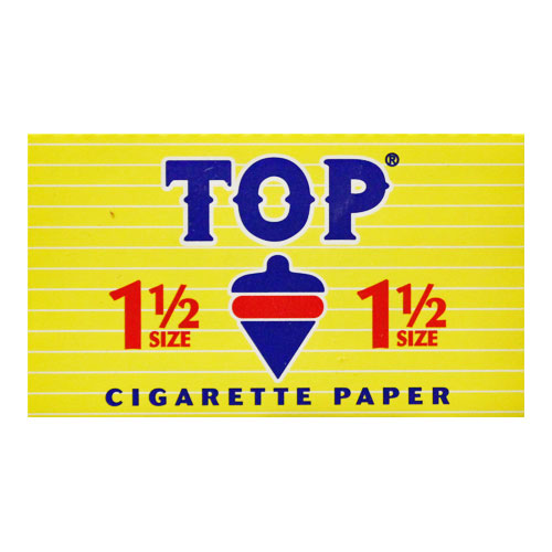 Top 1 1/2 Size Rolling Papers Single Pack