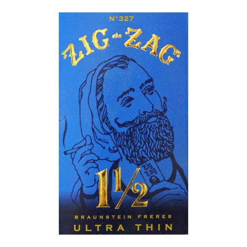 Zig Zag Ultra Thin 1 1/2 Size Rolling Papers Single Pack