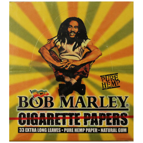 Bob Marley Hemp King Size Rolling Papers 50ct Box