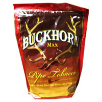 Buckhorn Max Pipe Tobacco 16oz Red Bag