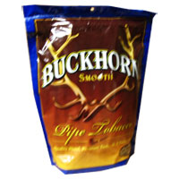 Buckhorn Smooth Pipe Tobacco 16oz Blue Bag