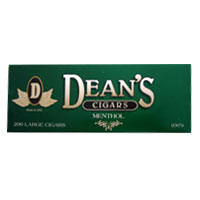 Dean's Menthol Flavor Filtered Cigars 10 Packs