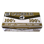 Gambler Gold 100mm Filter Tubes 200ct