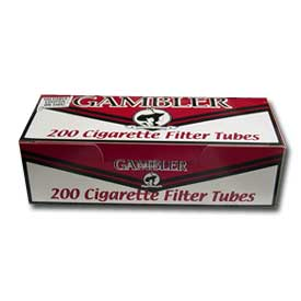 Gambler Regular King Size Filter Tubes 200ct