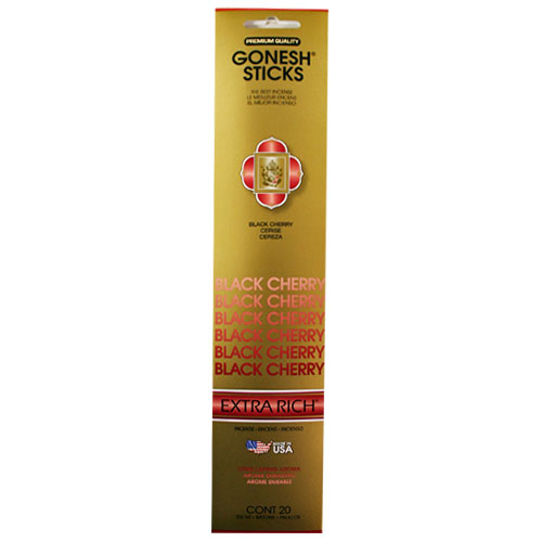 Gonesh Extra Rich Collection Black Cherry - 20 Stick Pack
