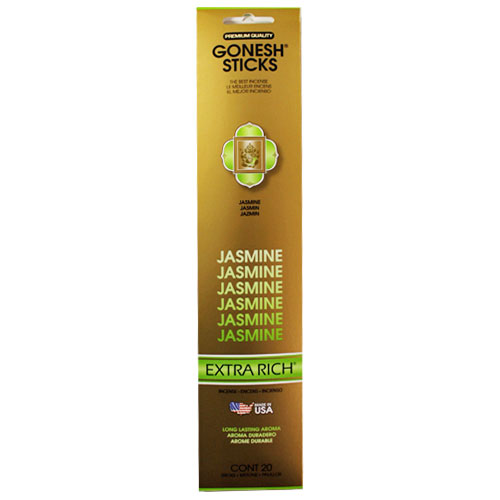 Gonesh Extra Rich Collection Jasmine - 20 Stick Pack