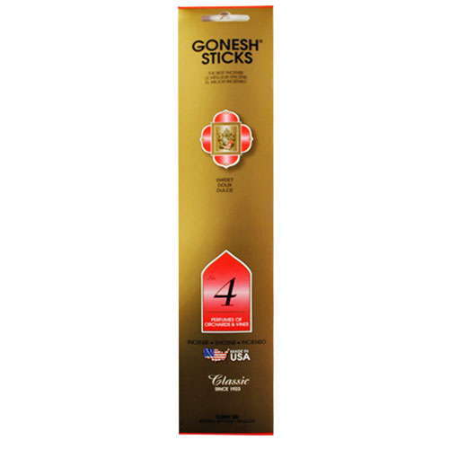 Gonesh Classic Collection No 4 - 20 Stick Pack
