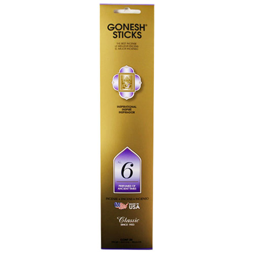 Gonesh Classic Collection No 6 - 20 Stick Pack