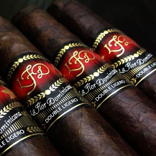 La Flor Dominicana Double Ligero Chisel 20ct Box