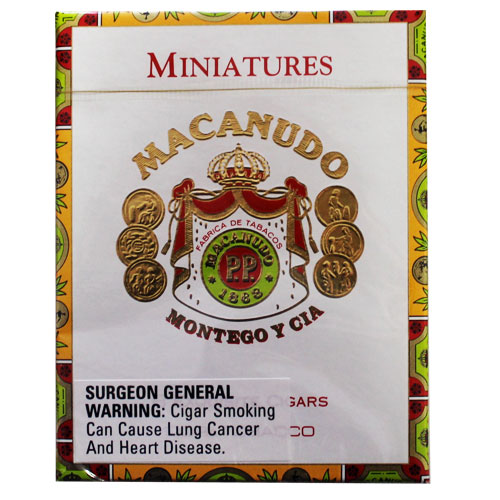 Macanudo Cafe Miniatures 8ct Tin