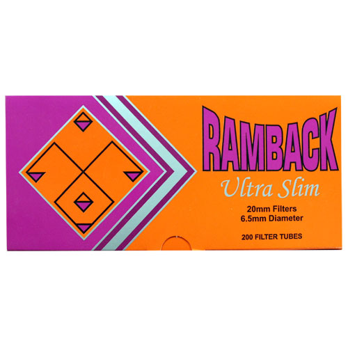 Ramback Ultra Slim Filtered Tubes