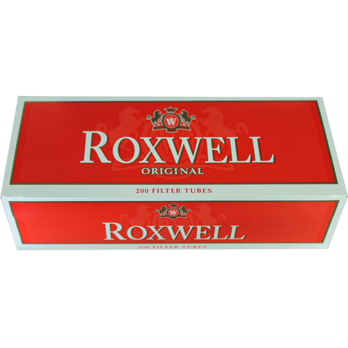 Roxwell Red 100mm Filter Tubes 200ct