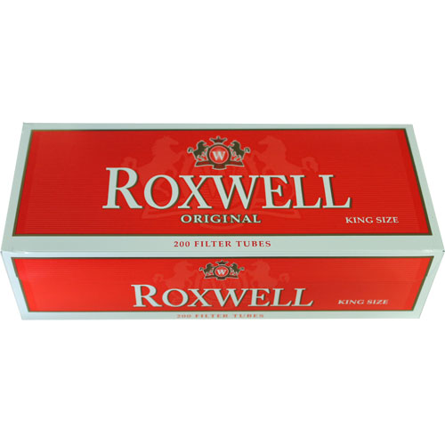 Roxwell Red King Size Filter Tubes 200ct