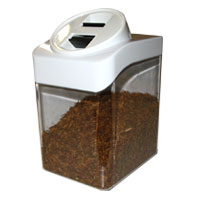 Tobacco Storage Slant Top Container w/ Blimpie Humidisk