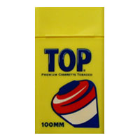 Top Yellow Flip Top 100mm Size Case