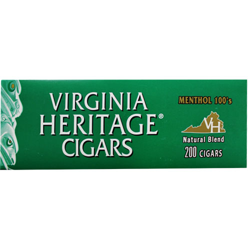 Virginia Heritage Menthol Filtered Cigars 10ct