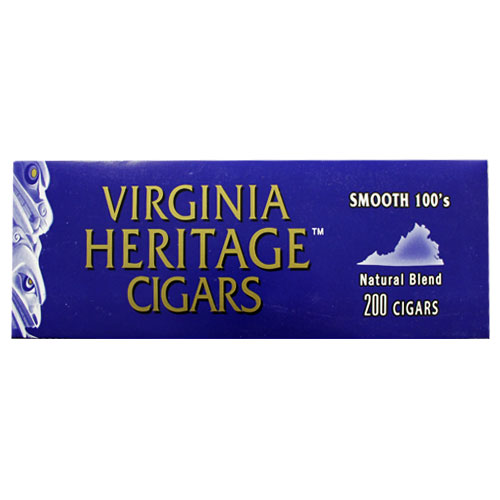 Virginia Heritage Smooth Filtered Cigars 10ct
