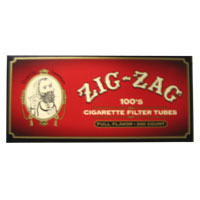 Zig Zag Original 100mm Filter Tubes 200ct Red Box