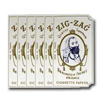 Zig Zag Original Rolling Papers 6 Pack